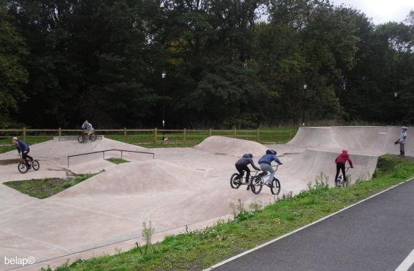 Parkfield Paignton BMX track