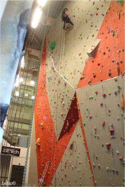 Plymouth Life Centre Climbing Wall